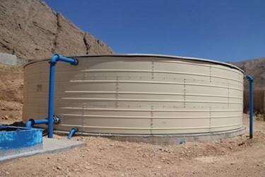 ساخت مخزن ۵۰ مترمکعبی در «لالندر» آغاز شد
