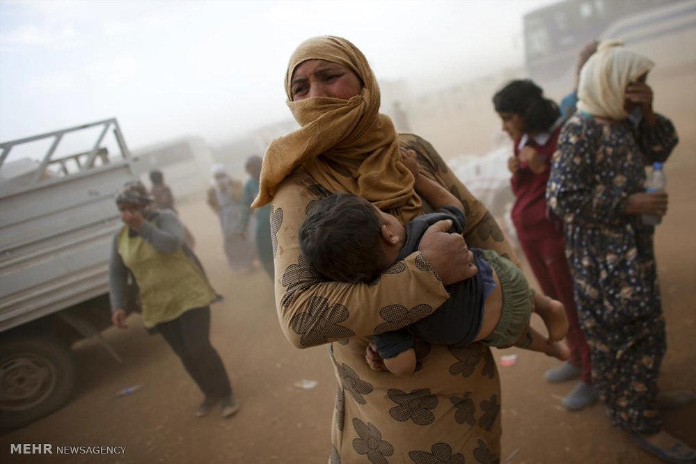 کودکان آواره سوری