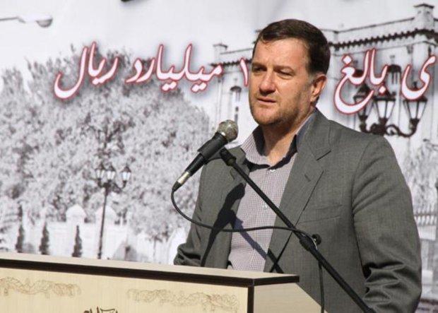 علی مدبر شهردار منطقه هشت تبریز