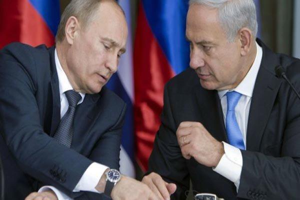 پوتین و نتانیاهو   پوتین و نتانیاهو تلفنی گفتگو کردند 686591