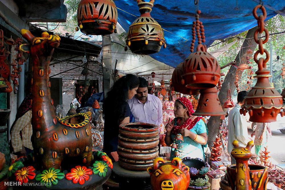 جشنواره روشنایی در هند