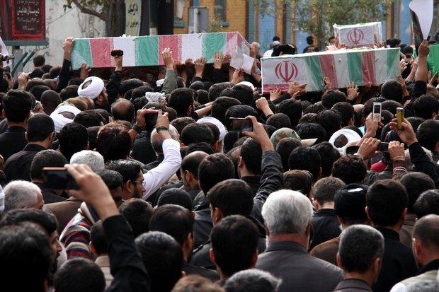 تشییع شهید گمنام در قم