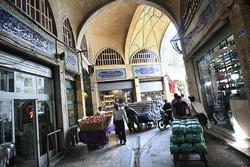 رونق تجارت «سرپایی» در بازار تهران/ حجرههایی که کرکرهها را پایین کشیدند