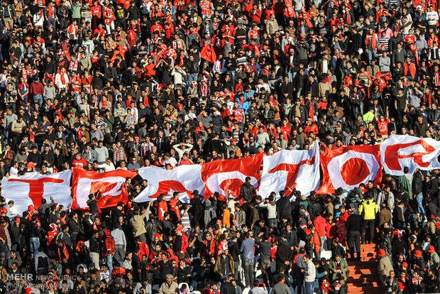 دیدار تیمهای فوتبال تراکتور سازی و استقلال