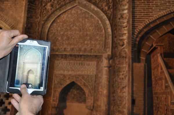 مسجدی که 480 سقف دارد/ حضور چشمگیر گردشگران خارجی در مسجد جامع اصفهان