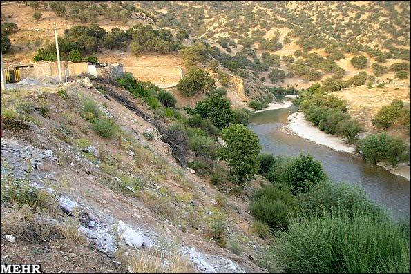 نجات بخشی آثار تاریخی در محدوده رودخانه لیله
