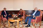 چهارمین دور از مذاکرات دو روزه وزرای خارجه ایران و آمریکا و نماینده اتحادیه اروپا