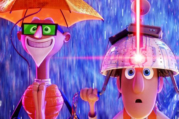 نقد و برسی انیمیشن ابری با احتمال بارش کوفته قلقلی