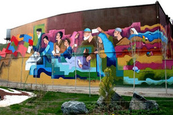 شهرداریها ازجشنواره دیوارنگاری شهر یاسوج الگوپذیری کنند