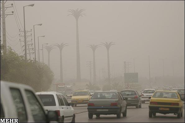 فردا آسمان تهران و دیگر شهر های صنعتی غبار آلود است