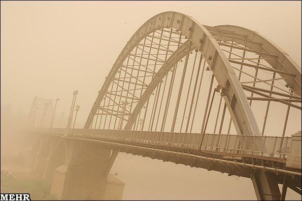 گرد و غبار اهواز