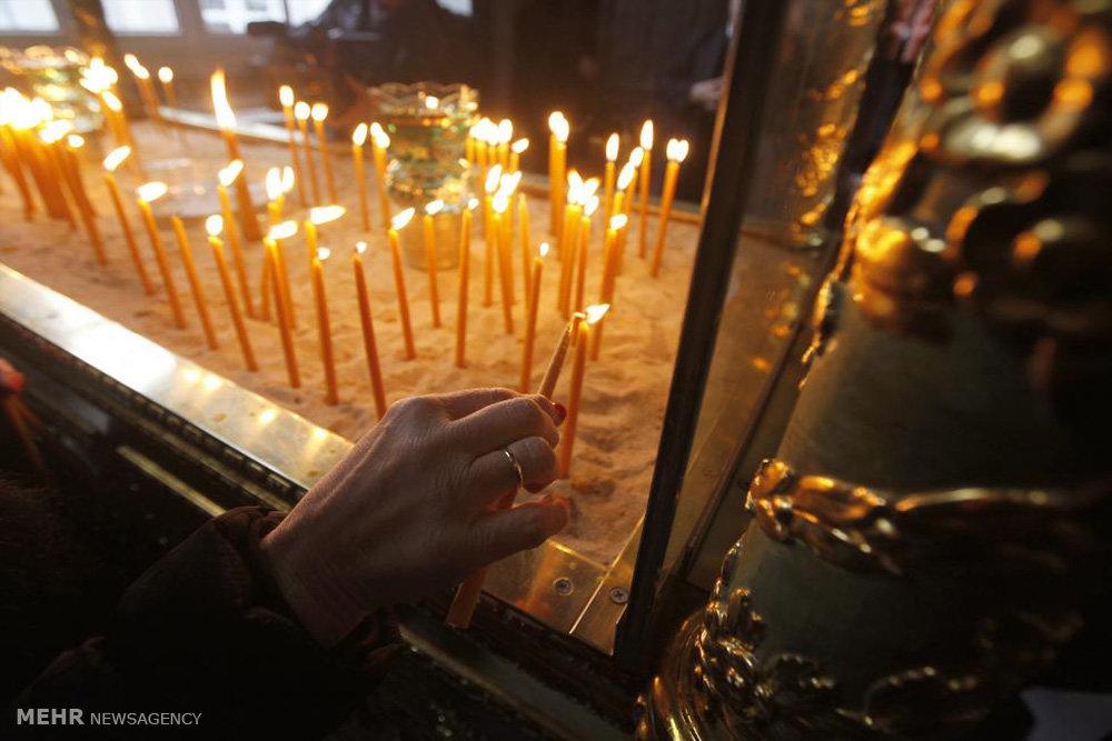 مراسم تجلی مسیح در نقاط مختلف جهان