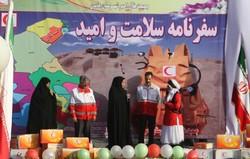 مردم سیستان و بلوچستان کاروان سلامت و امید را گلریزان کردند