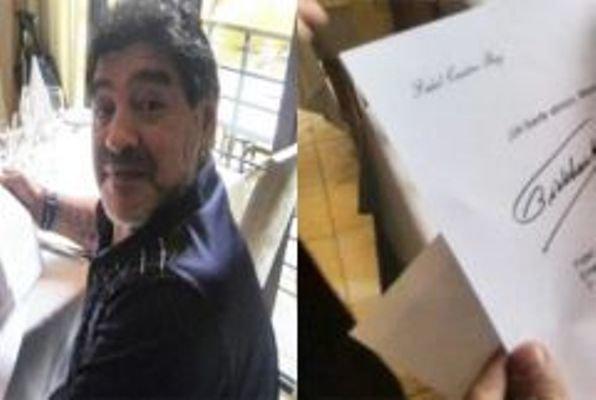 نامه کاسترو به مارادونا, مرگ کاسترو