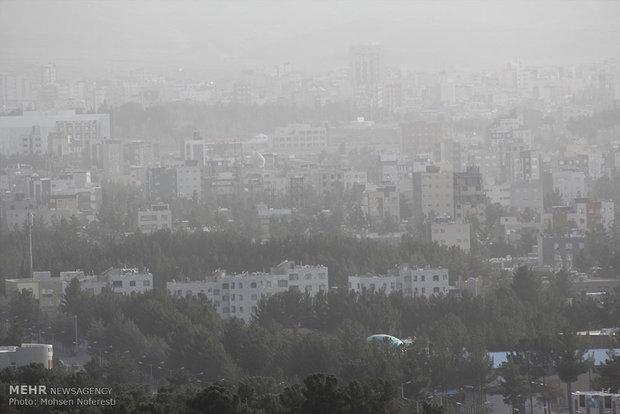 آلودگی هوا در بیرجند