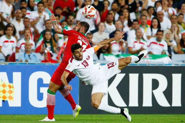 برد یک بر صفر ایران در برابر قطر