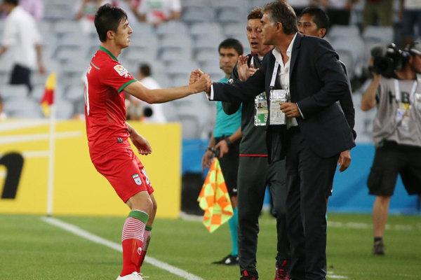 دیدار تیم ملی ایران و قطر