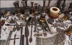 ۶۵ قطعه شی تاریخی در نهاوند کشف و ضبط شد