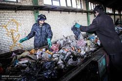 سایت بازیافت زباله محمد شهر قزوین