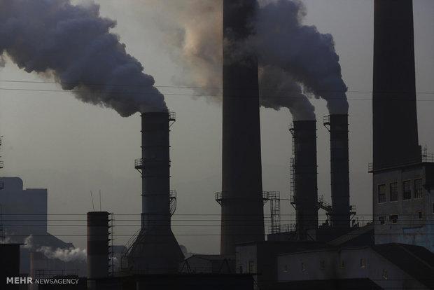 آلودگی هوا در استان هبی چین