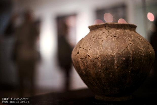 مجموعه اشیاء تاریخی بازگردانده شده از بلژیک