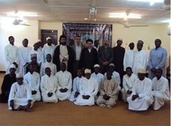 بازدید حجت الاسلام خاموشی از مراکز فرهنگی و مذهبی تانزانيا