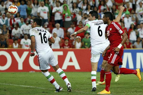 دیدار تیم ملی ایران و امارات