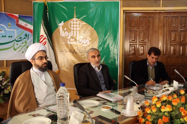 نشست خبری محمد وکیلی استاندار سمنان پیرامون همایش میقات الرضا (ع)