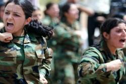 کرد خواتین کی فوجی تربیت