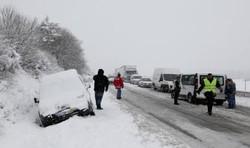 برف و سرما در جنوب اروپا