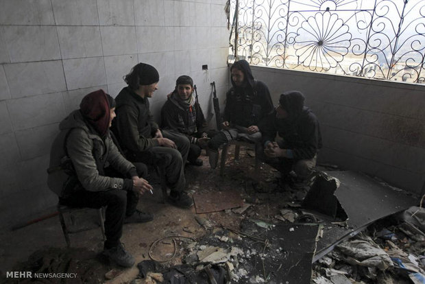 گشتی در خیابان های حلب