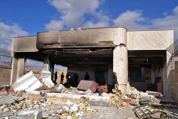 انفجار منزل مسکونی در شهرک نوین شاهرود