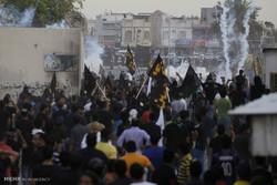 Bahreyn'de tutuklulara destek gösterisi
