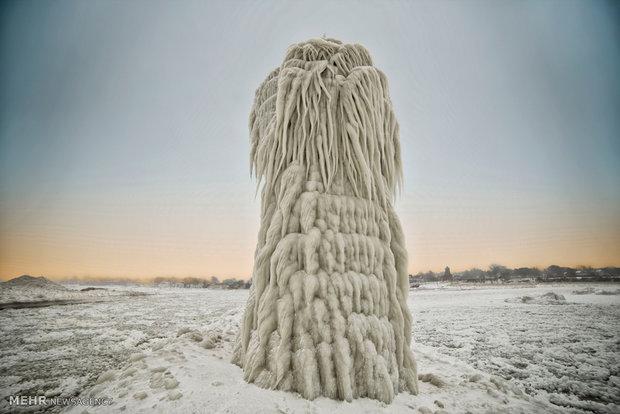 تصاویر زیبای یخبندان در میشیگان آمریکا 2