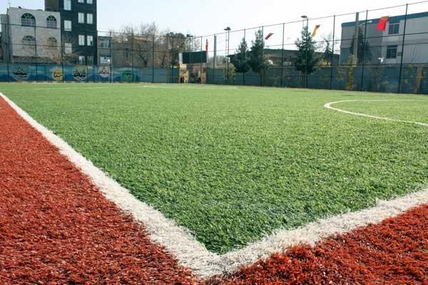 زمین های خاکی فوتبال در تبریز به تدریج به چمن مصنوعی تبدیل می شوند ...زمین های خاکی فوتبال در تبریز به تدریج به چمن مصنوعی تبدیل می شوند