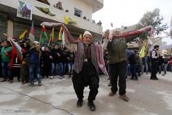 خوشحالی کردها از آزادی کوبانی