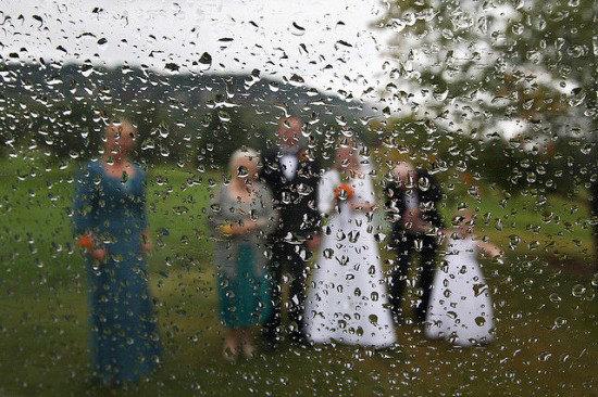 تضمین آب و هوای خوب در روز عروسی