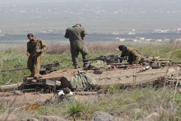اعلام اسارت یک صهیونیست توسط حماس/مانورنظامی اسرائیل درمرزهای غزه