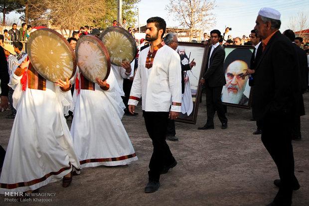 آئین جشن سده زرتشتیان در کرمان