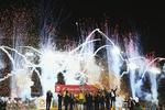 جشن قهرمانی تیم ملی استرالیا
