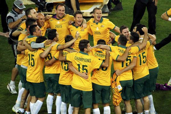 استرالیا با شکست اردن به عنوان سرگروه صعود کرد