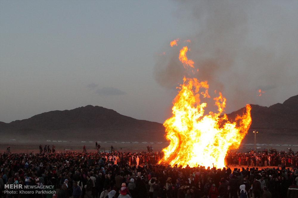 آیین جشن سده زرتشتیان در یزد