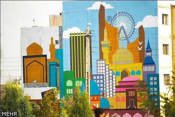 آغاز عملیات اجرایی 100 اثر دیوارنگاری شهری در تهران