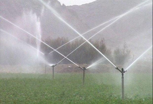 تجهیز ۳۴هزار هکتار از زمینهای کشاورزی استان به سیستم نوین آبیاری