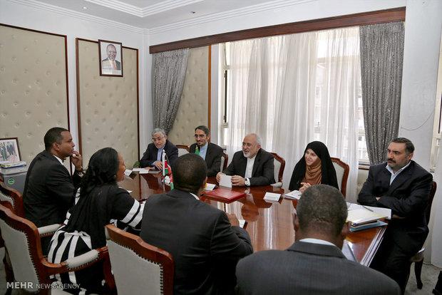 سفر وزیر خارجه به کنیا
