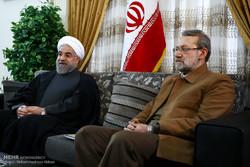 لاریجانی قانون «اقدام متقابل دربرابر آمریکا» را به دولت ابلاغ کرد