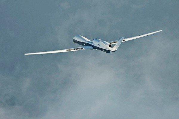 صعدہ میں اتحادی فوج کا  ڈرون طیارہ تباہ
