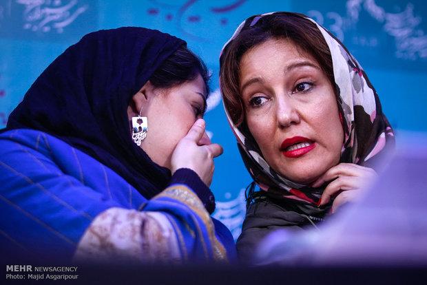 همسر لیلا حاتمی لو رفته لیلا حاتمی فیلم فجر 93 عکس فیلم فجر