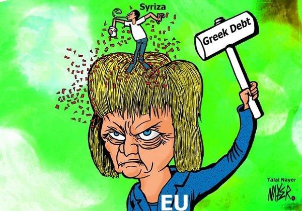 «مرکل» و چالش بدهی یونانی ها