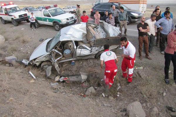 سالانه ۳.۵ درصد جمعیت کشور در حوادث رانندگی مجروح می شوند